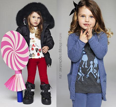 На фото: Детская мода 2017, Зима. Модная одежда для детей: детская одежда для девочек