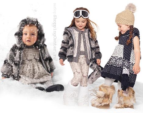 На фото: Детская мода 2017: Зима. Модная одежда для девочек, стильная детская одежда