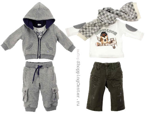 На фото: Детская мода 2017: Зима. Модная одежда для детей, стильная одежда для мальчиков