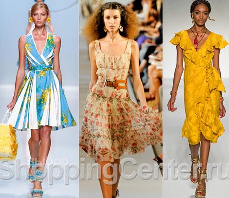 Мода. Лето 2018. Модная одежда. Фото