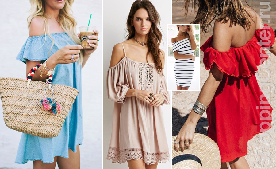 Модные платья, Лето