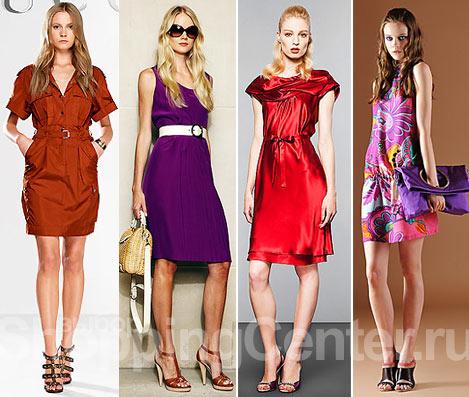 Платья. Модная одежда. Мода Лето 2018. Женская одежда. Фото