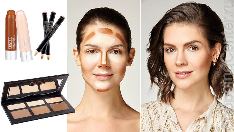 На фото: как правильно сделать макияж