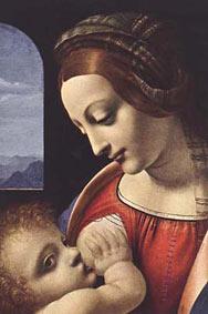 Мадонна Литта, Леонардо да Винчи. Madonna Litta, Leonardo da Vinci