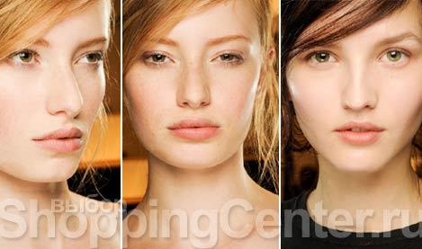 Модный естественный макияж 151