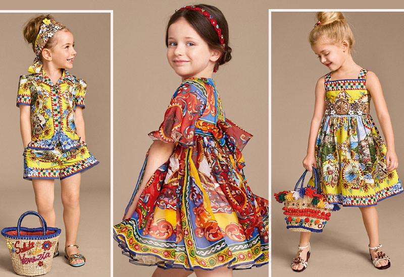 Платья для девочек 2017 и модная одежда, фото