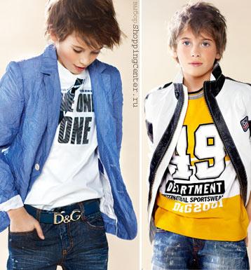 Детская одежда мода для мальчиков