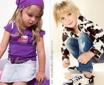 На фото модная одежда для девочек