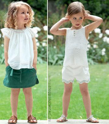 Детская одежда. Мода для девочек. Детская мода