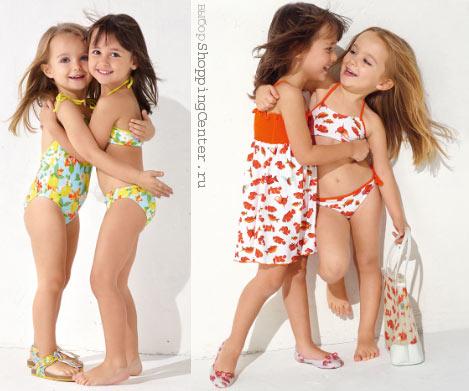 дети модели купальники