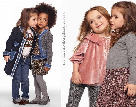 Детская мода осень модная одежда для