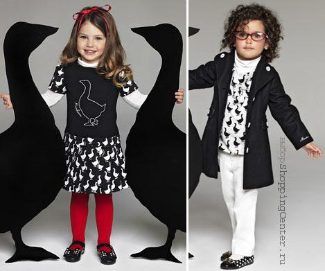 На фото: Детская мода Осень. Модная одежда для детей