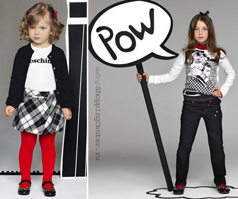 На фото: Детская мода Осень. Модная детская одежда для девочек