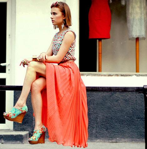Уличная мода на London Fashion Week s/s 2012.  Парижская Неделя Моды.