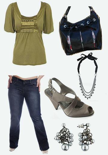 Модная женская одежда. Фото