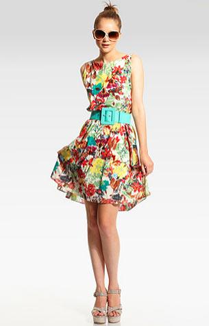 Платья в цветочек – что может быть