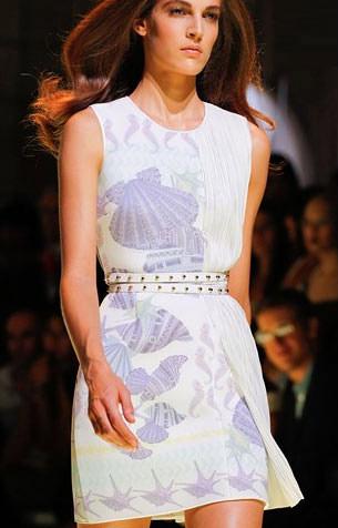 Платья модные платья в морском стиле
