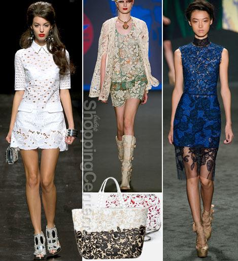 Модные кружевные платья 2017