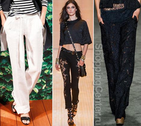 Модная одежда 2017: брюки. Фото
