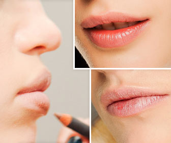 Натуральный макияж губ - это модно!