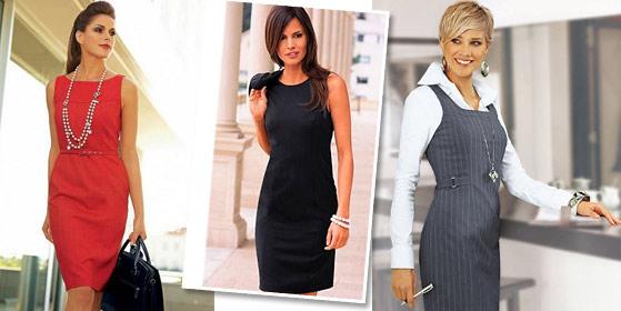 Платье-футляр для деловой женщины