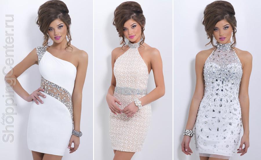 Белые платья к Новому году