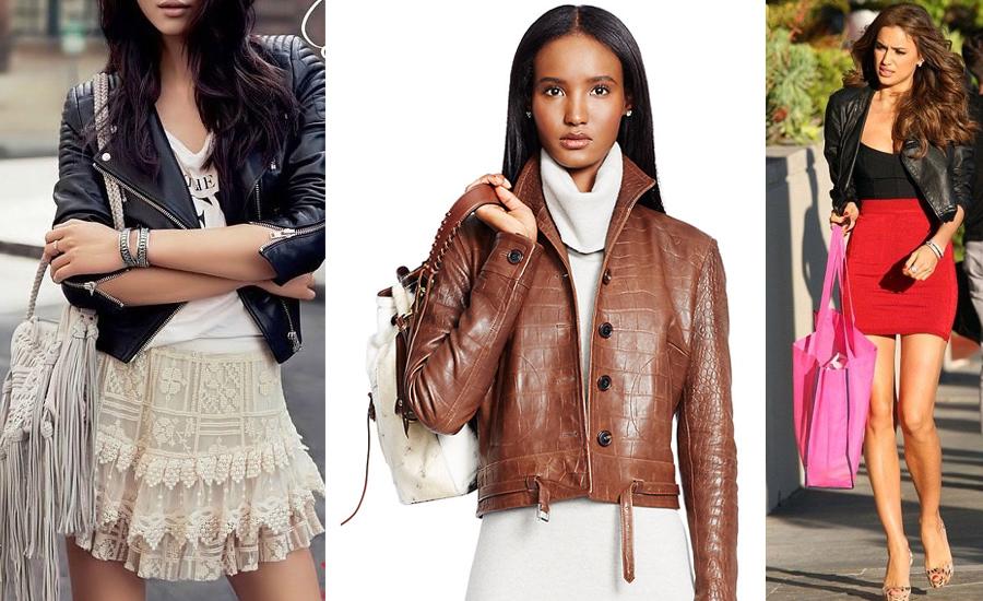 Женские куртки, как и с чем носить