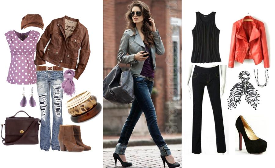 Модные сочетания в одежде , фото