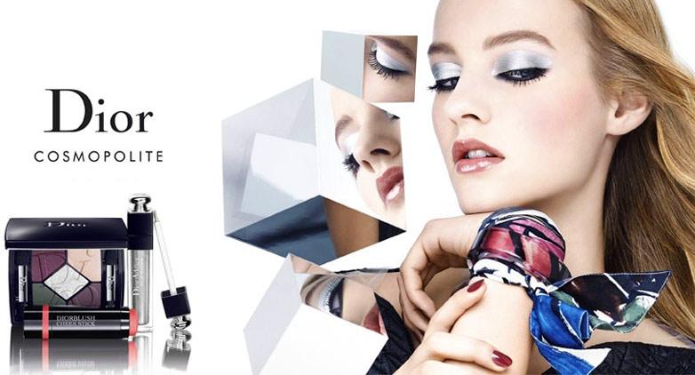 Модный макияж Dior