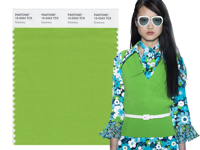 Модный цвет Весна - Лето