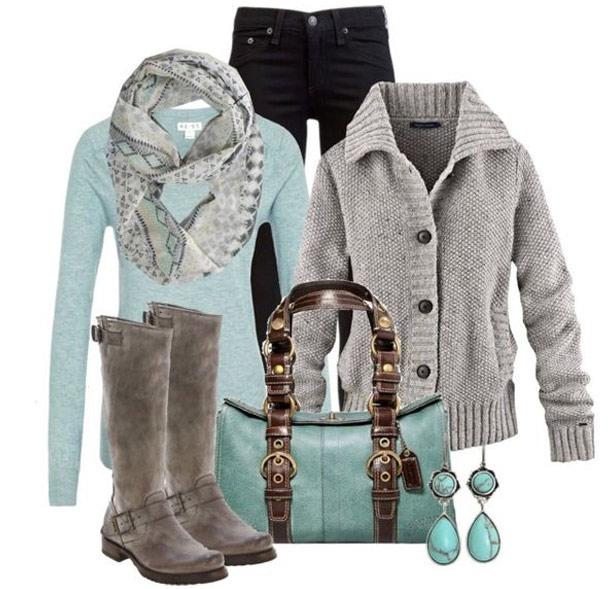 Как одеться стильно зимой