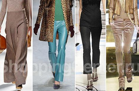 Мода. Лето 2017. Модная одежда, брюки. Фото