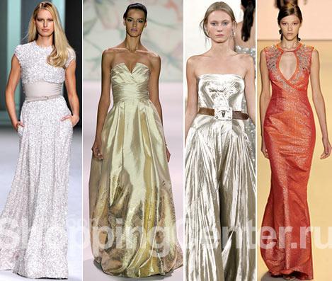 Вечерние платья на Новый год. Новогодние платья 2012, фото