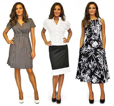 Платья. Модная одежда. Платья российских дизайнеров. Женская одежда. Фото