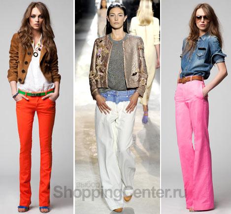 Модные джинсы, фото