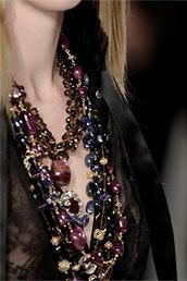 Модные украшения, бижутерия, аксессуары Осень, Зима 2012 Фото.