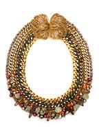 Модные украшения 2017: ожерелье, фото из модной коллекции Lizzie Fortunato