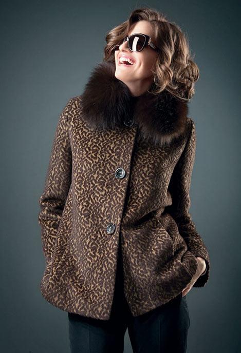 Модели пальто из кашемира
