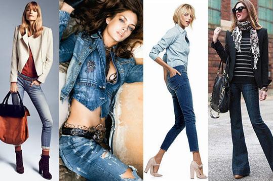 18 новых идей, с чем носить джинсы