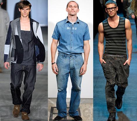 1. Какие джинсы самые модные.  Фото женских модных джинсов 2012.