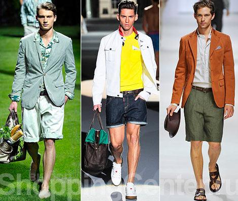 Мужская модная одежда весна лето 2015