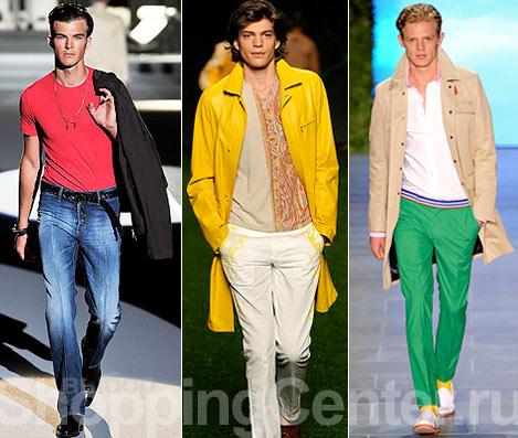 Мужская Мода Весна