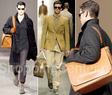 ...из мягкой кожи, класический кожаный саквояж Canali.