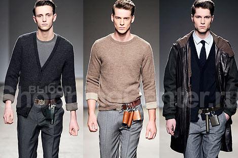 Модные мужские сумки, фото: мини - сумки на ремне от Dunhill.