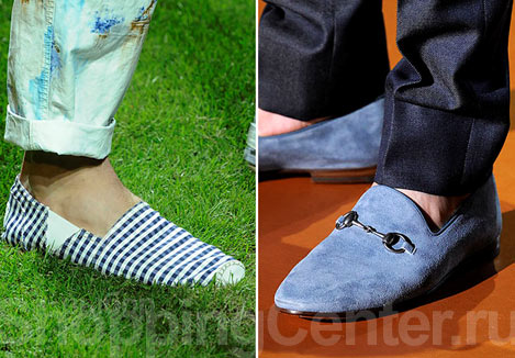 Комментарий: мужская мода, лето 2012.