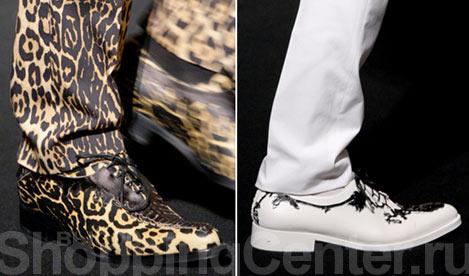 Модная Мужская Обувь Весна 2014
