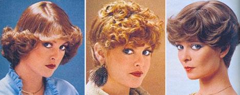 Прически 70-х годов, фото