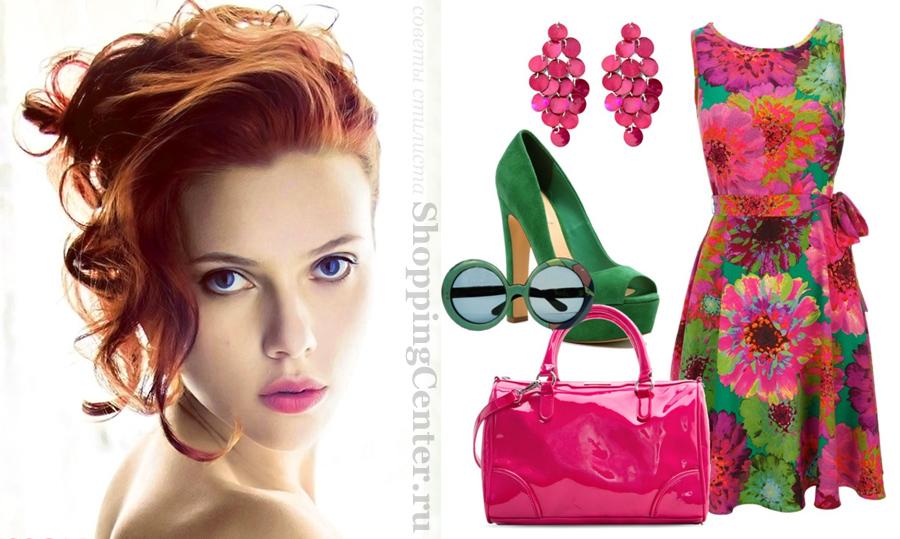 Одежда и макияж для цветотипа Весна