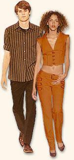 Стиль. Осень. Одежда для людей осеннего типа внешности.