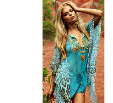 Весна, фото из модной коллекции SuiteBlanco,  модель Emily DiDonato
